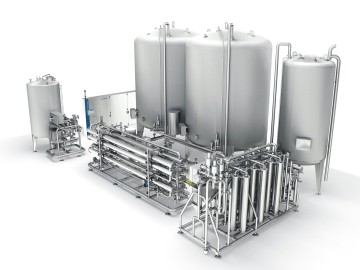 Water treatment system Hydronomic. Source: Krones AG